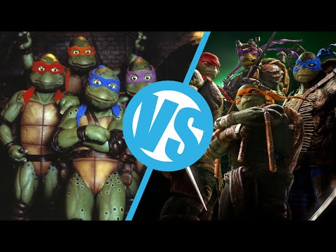 Teenage Mutant Ninja Turtles (2014) VS Teenage Mutant Ninja Turtles (1990) : Movie Feuds ep99