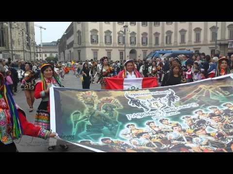 MONDO IN FESTA con PASIONES PERUANAS  MILAN - 2014