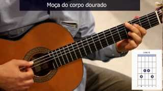 "Como tocar ""Garota de Ipanema"" de Tom Jobim/Vinícius de Moraes / How to play ""The girl from Ipanema"""