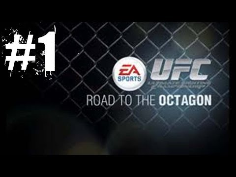 EA Sports UFC: Career Mode Path to Greatness Part 1: Training and Elimination Fight No Commentary