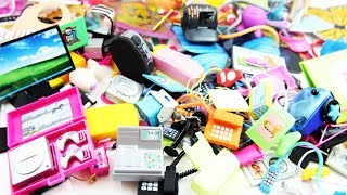 100+ Miniature Doll Stuff Collection #2-  Handmade miniatures and doll Electronic stuff