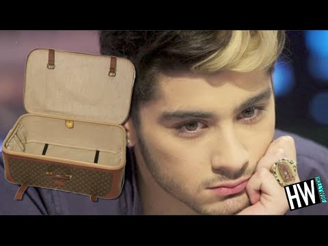 WTF! Zayn Malik's Bag Stolen By Crazy Fans & Posted Online!