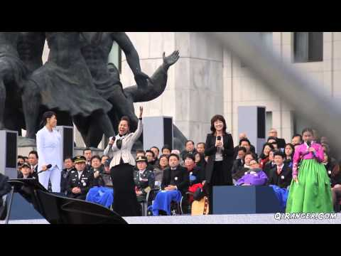 BREAKING NEWS: Park Geun-Hye Gangnam Styles Into Office