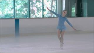 Elle Fanning ice skating scene from Somewhere 2010