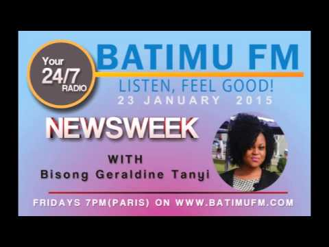 Batimu FM : Cameroon News Roundup with Bissong Geraldine Friday January 23,2014