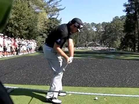 Graeme McDowell swing  - Down the Line