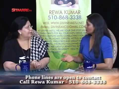 Divine Vastu Consultant Rewa Kumar Talk Show on Sitaarre TV (KTSF26) USA on Feb 10, 2013