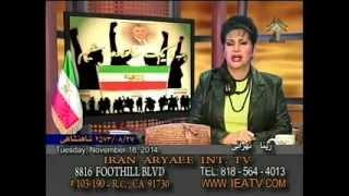 با مردم برنامهای از زینا تهرانی Zina Tehrani 11-18-2014