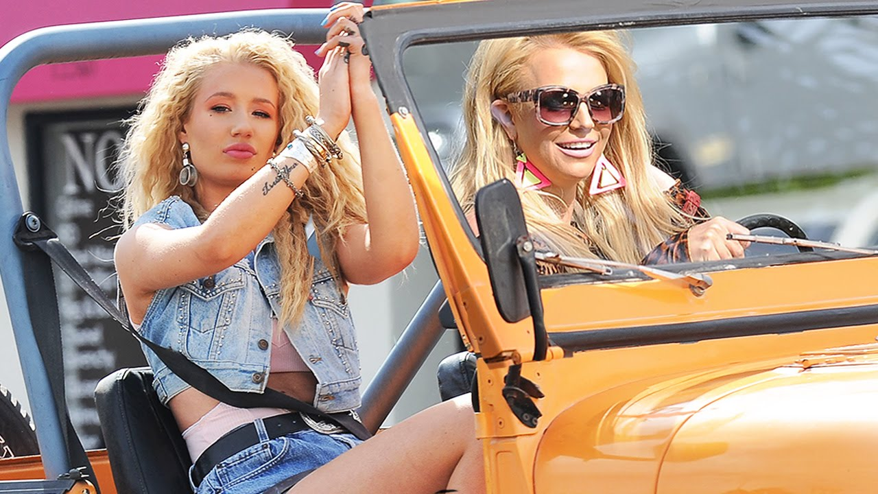 Britney Spears Iggy Azalea Iggy Azalea Britney Spears '