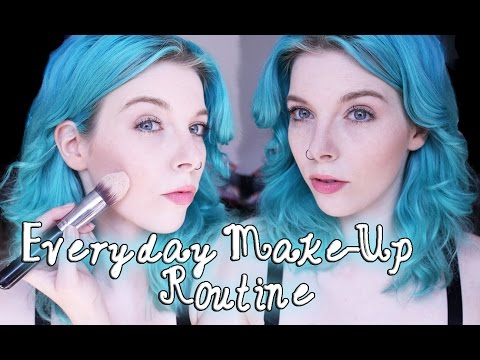 Everyday MAKE UP Routine #1 Ira Vampira