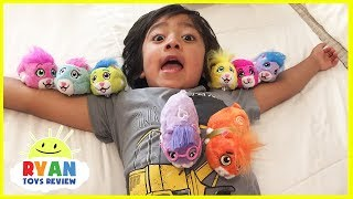 Hide and Seek Zhu Zhu Pets Hamster Surprise Toy Hunt Challenge with Ryan ToysReview
