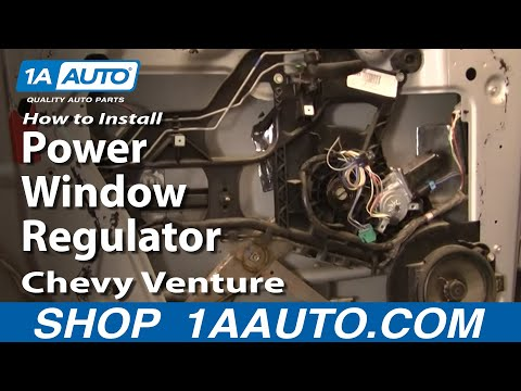 How To Install Replace Power Window Regulator Chevy Venture Pontiac Montana 97-05 1AAuto.com