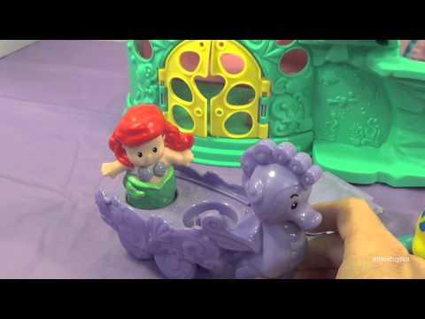 media fisher price little people disney princess klip klop princess stable