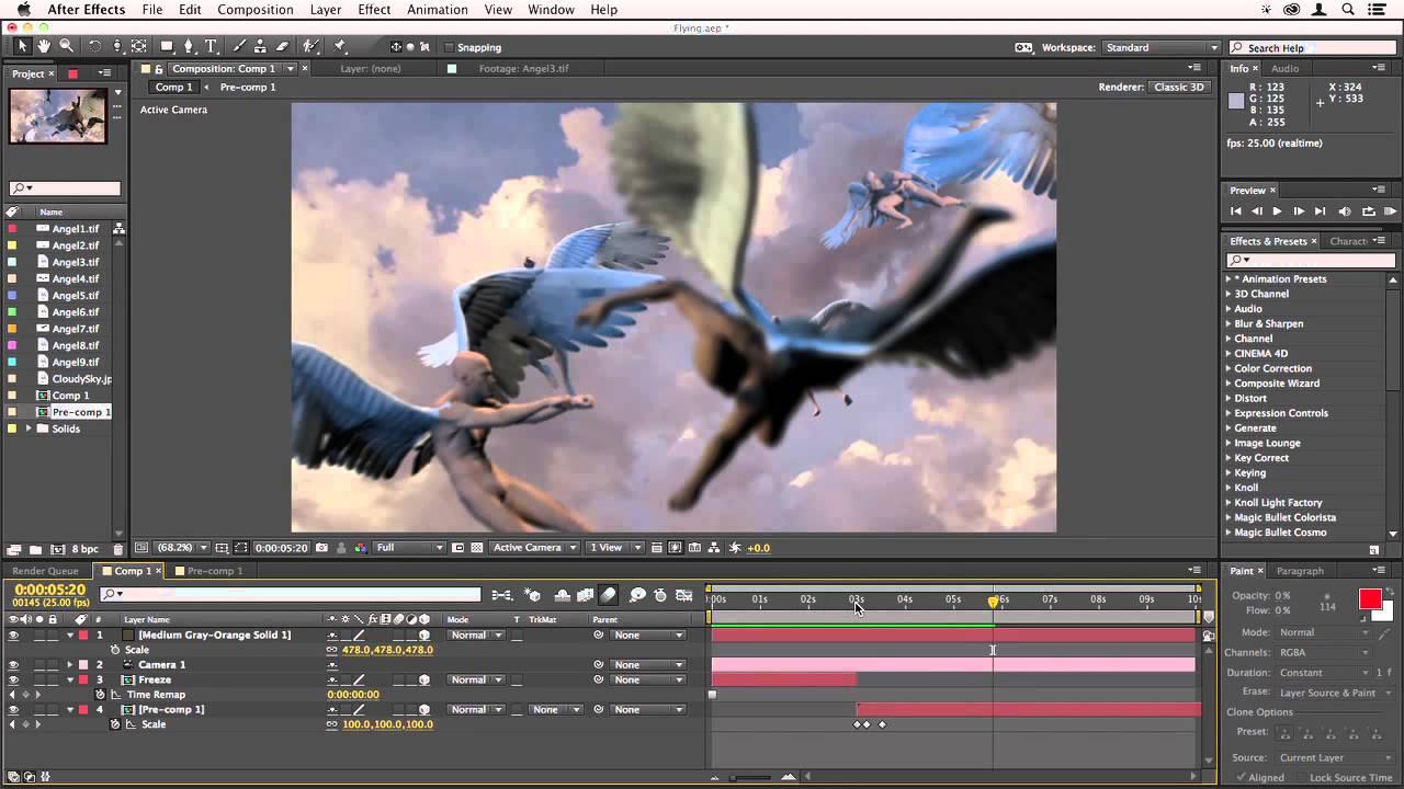 Готовые проекты After Effects - PooShock.Ru