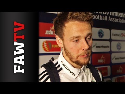 Chris Gunter Israel post-match reaction