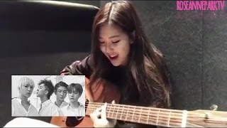 [ENG] Blackpink's Rosé singing Winner's Really Really