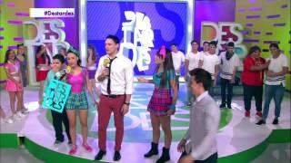 El Ruso les da una lección de baile a los DBoys