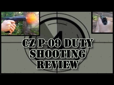 CZ P-09 Duty Shooting Review: feel. function. accuracy. trigger quality. impressions