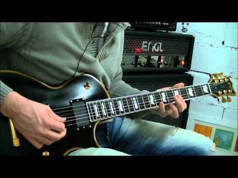 Engl Fireball E625 son clair (disto sur rythmique et solo)-Nothing Else Matters