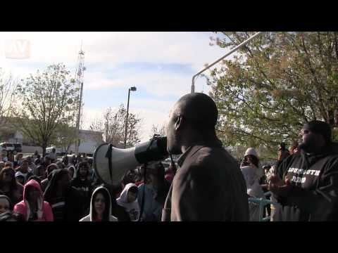 Darren Parker Human Relations Commission - Trayvon Martin March for Solidarity