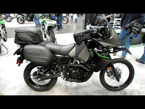 2014 Kawasaki KLR650 Accessorized Walkaround - 2013 New York Motorcycle Show