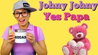 Johny Johny Yes Papa Nursery Rhymes Song for Kids