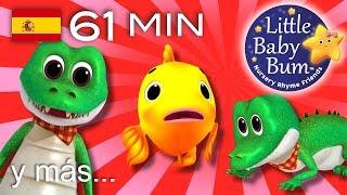 La canción del cocodrilo | Y más canciones infantiles | ¡61 minutos de recopilación LittleBabyBum!