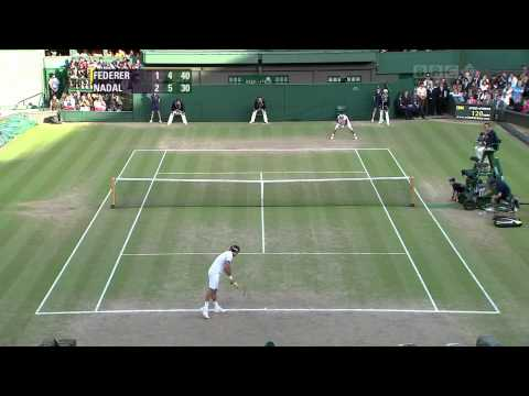 Federer vs Nadal Wimbledon 2008 Highlights [HQ]