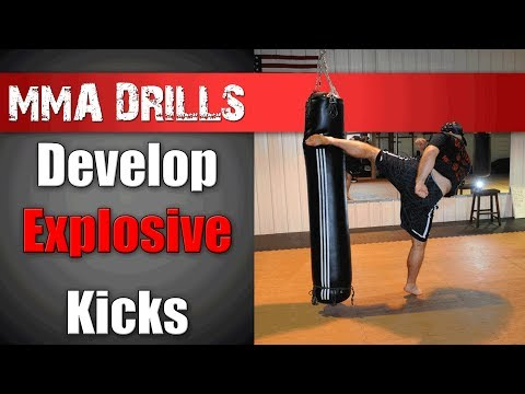 How to Develop an Explosive Kick - MMA Training & Drills Image 1