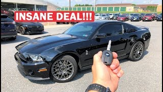 I ACCIDENTALLY BOUGHT A SUPER RARE SHELBY GT500 AT THE AUCTION!!! (and I'm Going to Build it!)