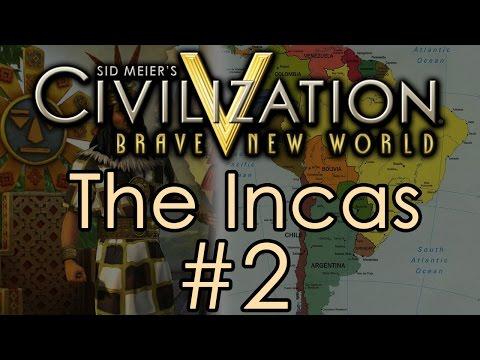 Civilization 5: Immortal Incas - Part 2 video