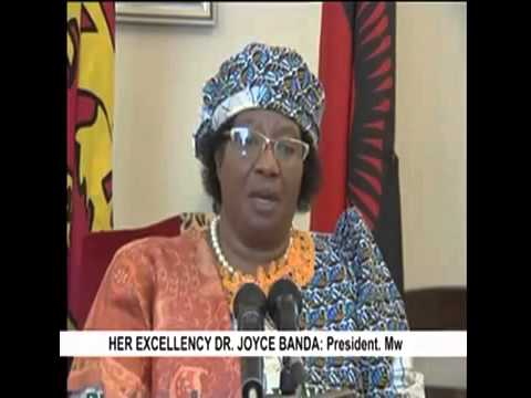Joyce Banda President of Malawi Hunger  Nutrition  Climate Justice