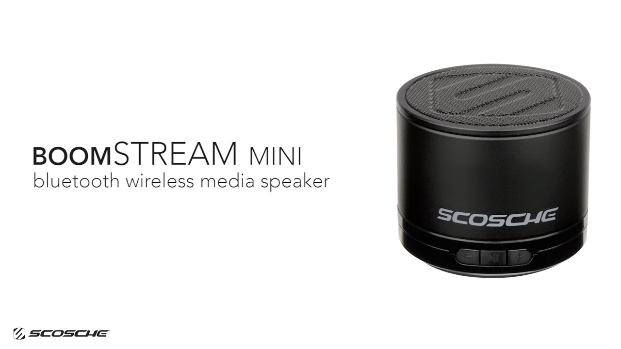 Boomstream bluetooth wireless media speaker review