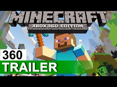 MINECRAFT Xbox 360 Edition Official Multiplayer Trailer XBLA 2012 HD