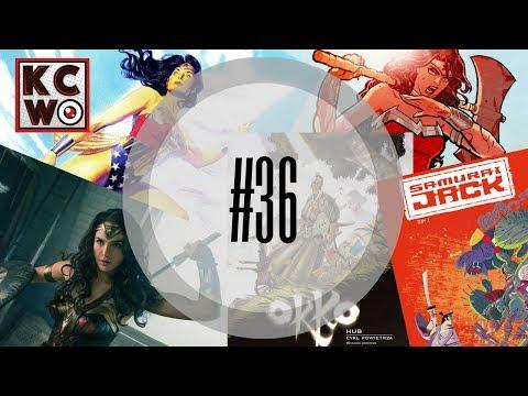 Kadr Ci w oko! #36 - Recenzja Wonder Woman! Film i komiksy, Okko, Samuraj Jack