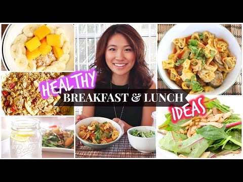 Healthy School Breakfast & Lunch Ideas!
