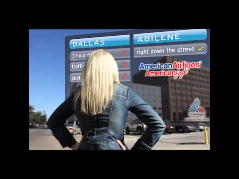 Check out the latest TV & internet ad for the Abilene Regional Airport. Special Effects from PhotoShop and Adobe After Effects.