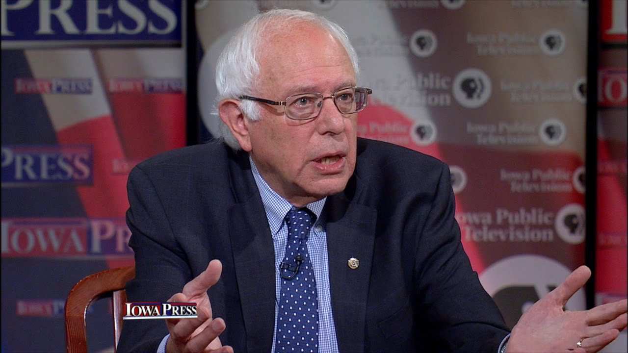 "Sanders on Iran deal: ""You give peace a chance"""