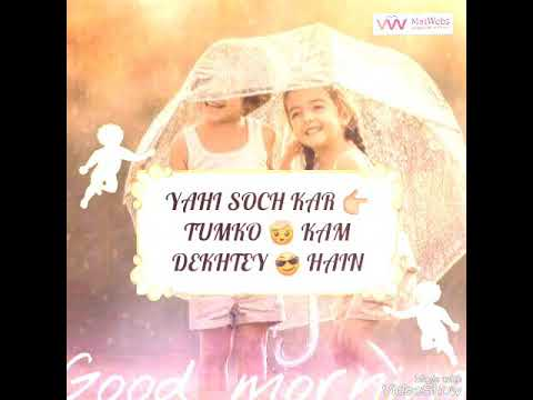 Whatsapp Love Status Song_Agar  Dekhna Hai Toh Ji Bhar Ke Dekho
