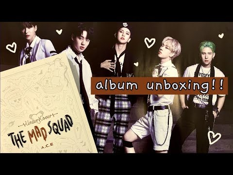 "Download A.C.E - ""Under Cover: The Mad Squad"" chaotic album unboxing MMT pre-order! Mp4 baru"
