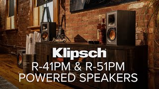 Klipsch R-41PM & R-51PM Powered Speaker Review