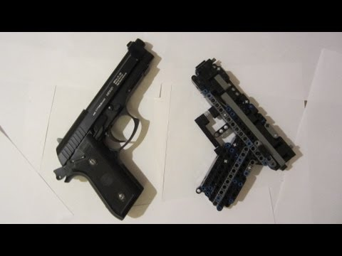 lego technic pistol instruction