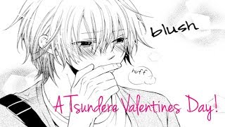ASMR Roleplay ? A Tsundere Valentines Day! ? ( Cute ) ? ( Romantic ) ? ( Sweet )