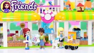 Lego Friends Heartlake Pet Center Shop Build Silly Play