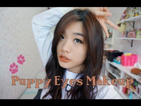 Puppy eyes makeup