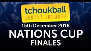 NATIONS CUP Finales - Tchoukball Geneva Indoors