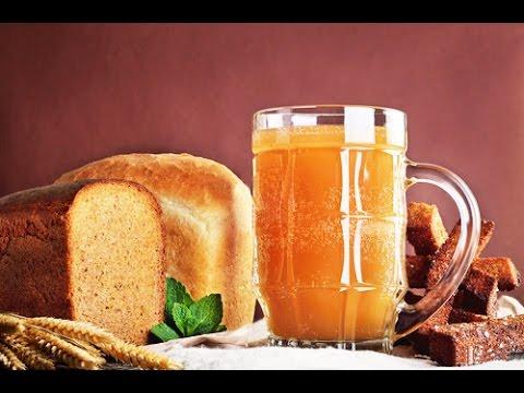 ДОМАШНИЙ КВАС - Простой и вкусный рецепт - How To Make Kvass | Russian Bread Drink