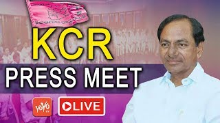 CM KCR Press Meet LIVE | KCR Cabinet Meeting | Telangana LIVE | TRS LIVE