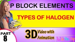 Types of halogen p block elements class 12 chemistry subject notes lectures cbse iitjee neet