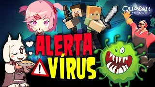 Jogos que Instalam Vírus Assustadores no seu PC - Quasar Jogos
